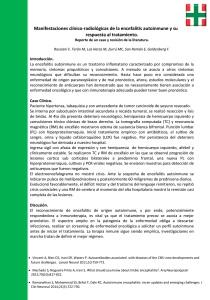 03 - Manifestaciones clínico - radiologícas de la encefalitis autoinmune