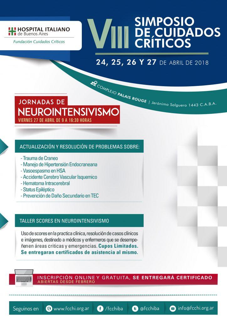 Jornadas de Actualización en Neurointensivismo – FCCHI